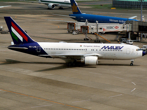 Russian state buys stake in Malév Hungarian Airlines