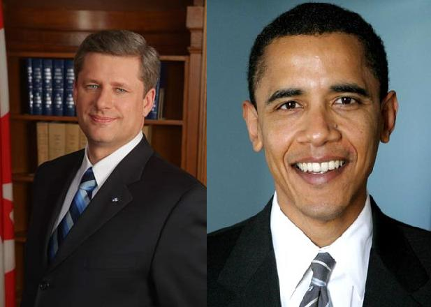 Stephen Harper s Barack Obama