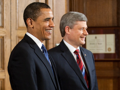 Barack Obama s Stephen Harper Ottawban