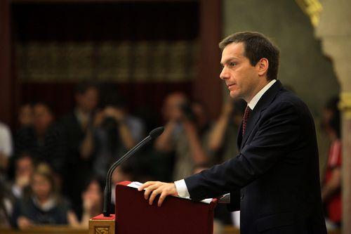 Gordon Bajnai becomes Hungarian prime minister