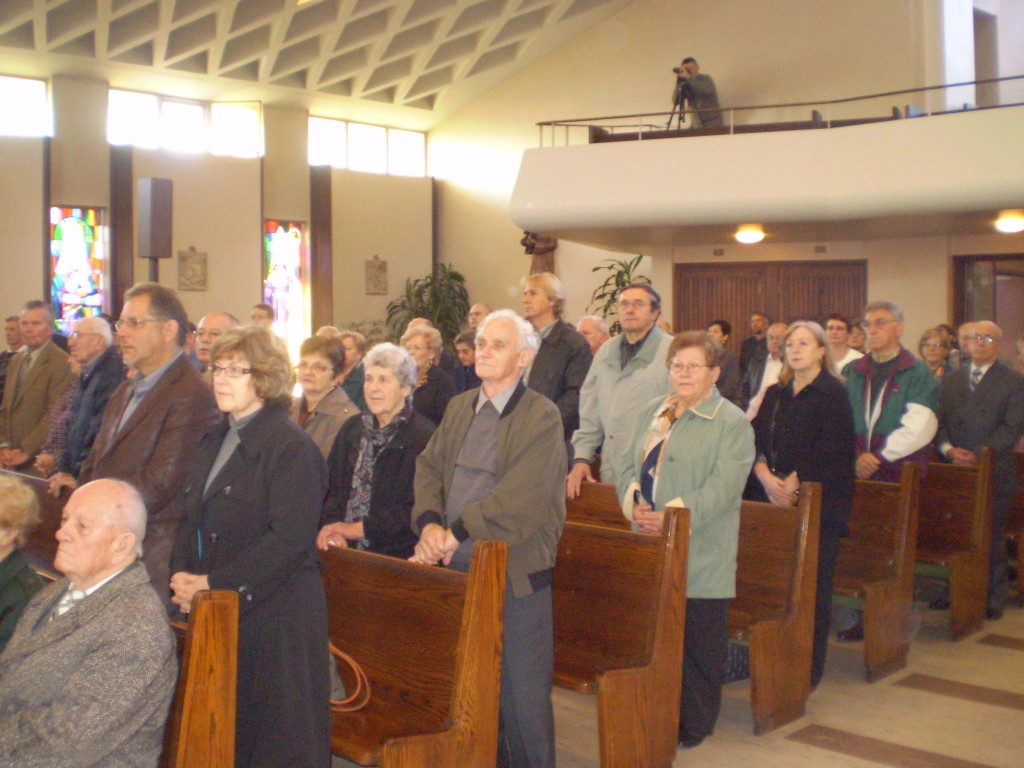 Parishioners at Our Lady of Hungary Parish (Photo: C. Adam)