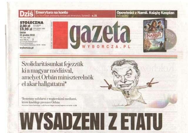 "Orbán diktátor és Magyarország ""Führerstaat Ungarn"""