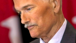 Jack Layton 2011. jlius 25-n