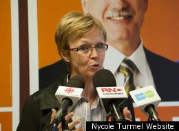Nycole Turmel szeparatista múltja a Bloc Québécois-nak kedvezhet