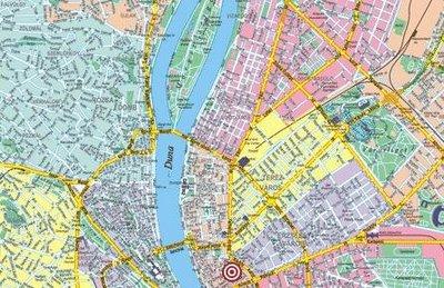 Budapesti térkép – 1986