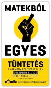 A magyarországi kormány ellen tüntettek