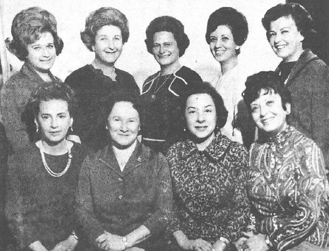 Képek a montreáli magyar zsidó nőegylet történelméből