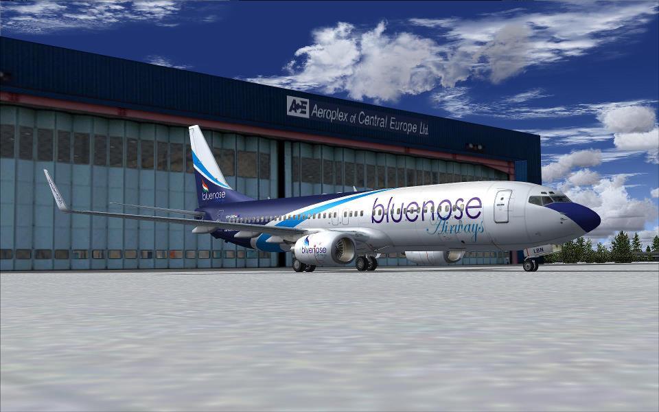 A BlueNoseAir – a Malév utód – már megjelent a Facebookon