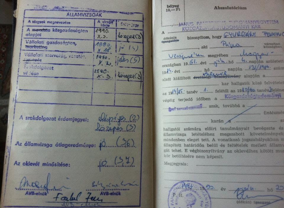 Gyurcsány Ferenc és a borászat