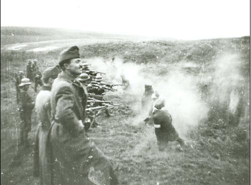 Magyar katonák által irányított kivégzések Ukrajnában
