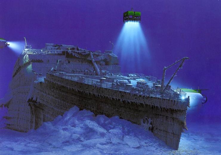 """A Titanic süllyedésével egy régi """"úri"""" világ is eltűnt"""
