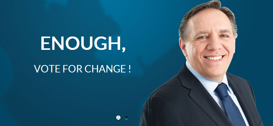 Végre elkészült a Coalition Avenir Québec angol nyelvű honlapja