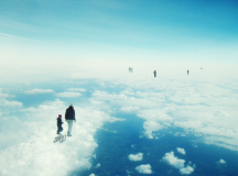 Heaven's already here above the clouds / Fotó: Richard Davis