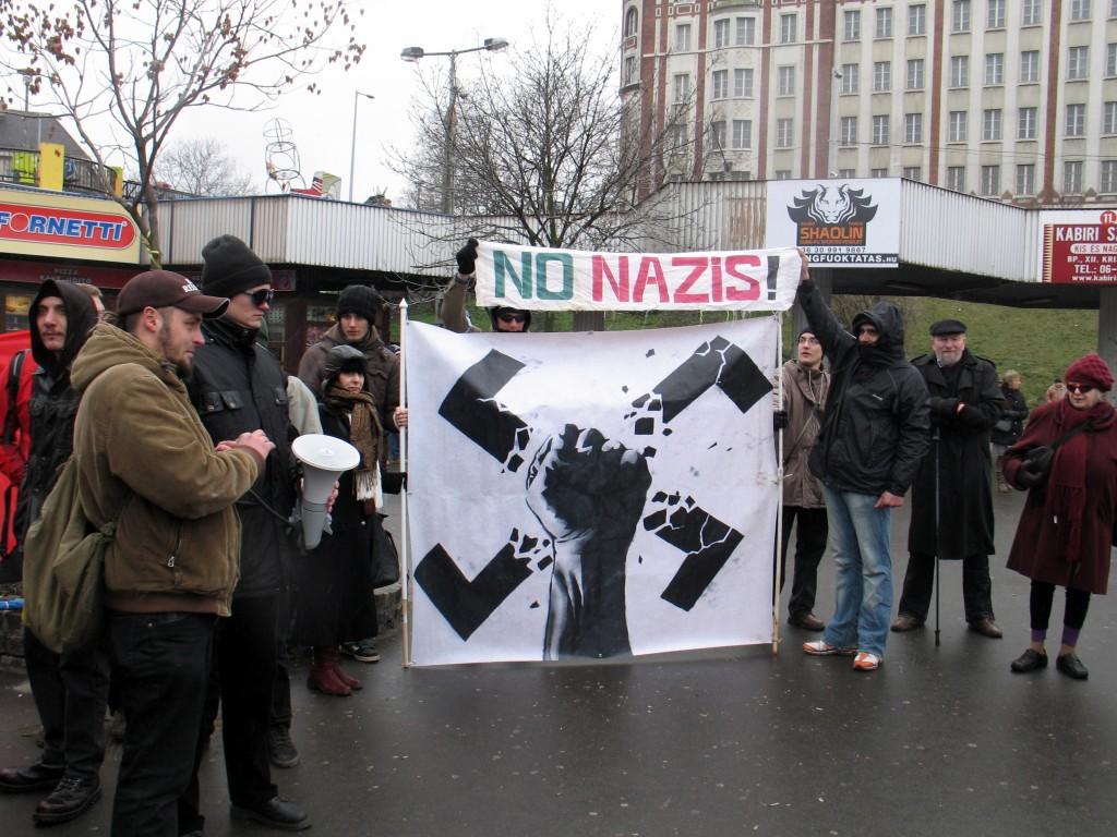 No Nazis! (Fotó: Nagy Dénes Lajos)