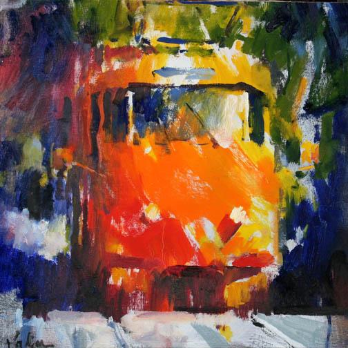Orange Train / Vadim Zanginian
