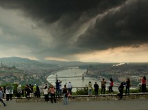 Storm gathering over Budapest / Formidable photography