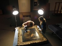 Inspection of Rembrandt's Old Man Praying