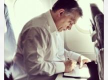 Orbán Viktor Brüsszelbe repül (Fotó: Facebook)