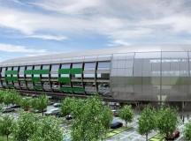 Az új Üllői úti stadion.