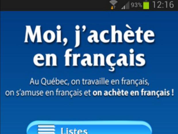 """A nyelvrendőrség új mobilos applikációja. """"Én franciául vásárlok!"""""""