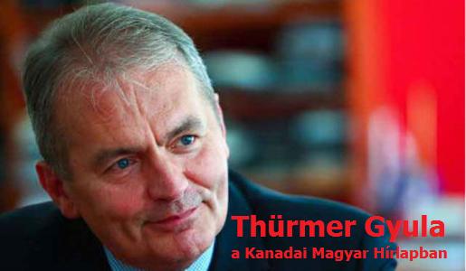 Thürmer Gyula a Kanadai Magyar Hírlapban