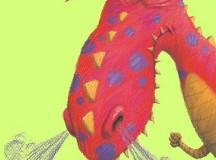 Grumpy dragon / lynnechapman.blogspot.com