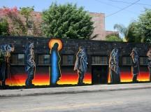 Jesus of the Bread Line / A római katolikus szocialista munkásmozgalom egyik fontos jelképe Los Angelesben.