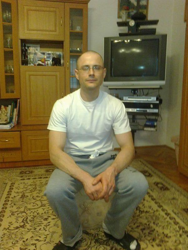 Zuschlag János 2013-ban, amikor éppen kiengedték egy-egy hétvégére a börtönből (Fotó: Facebook)