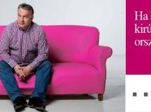 A Deutsche Telekom lenne Orbán Viktor kidobólegény? Illusztráció: Magyar Kétfarkú Kutya Párt