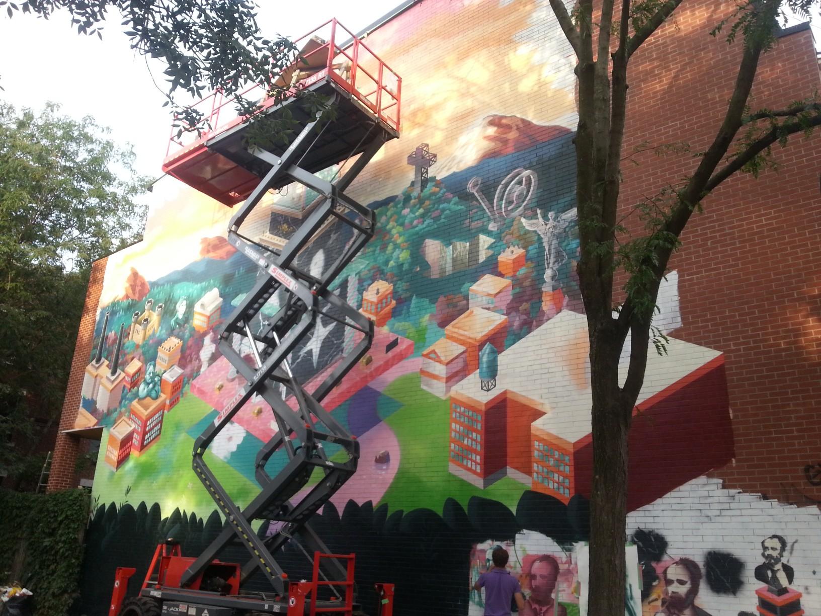 Séta a Plateau-ban....street art a Duluth Avenue-n.