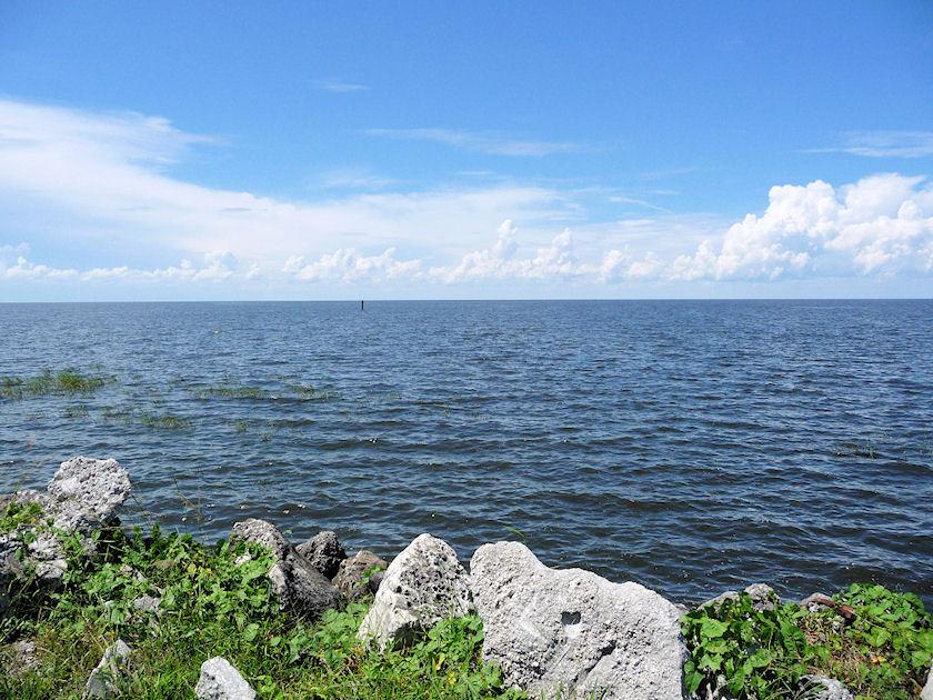 Mikor fagy be Lake Okeechobee Floridában?