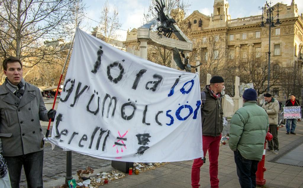 No More Racism tüntetés Budapesten / Fotó: Molnár B. Balázs