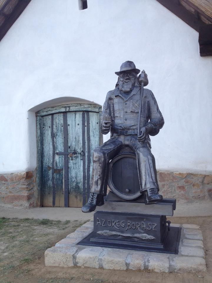 Az Öreg borász c. alkotás. Fotó: Garai-Édler Eszter.