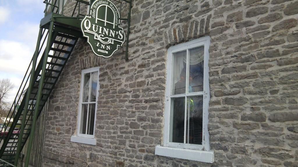 A helyi kocsma (Quinn's Inn) St. Andrews Westben. Fotó: Christopher Adam/KMH.