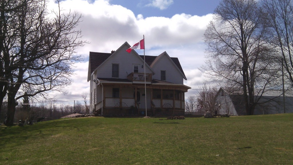 Egy ház St. Andrews Westben, a fő út mentén. Christopher Adam/KMH.