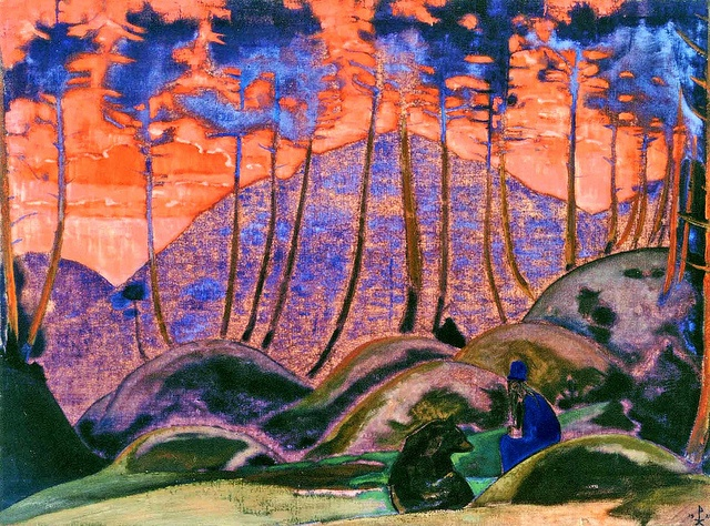 Language of the forest / Nicholas Roerich (1922)