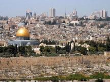 """""""Jerusalem from mt olives"""" by Wayne McLean (Jgritz)"""