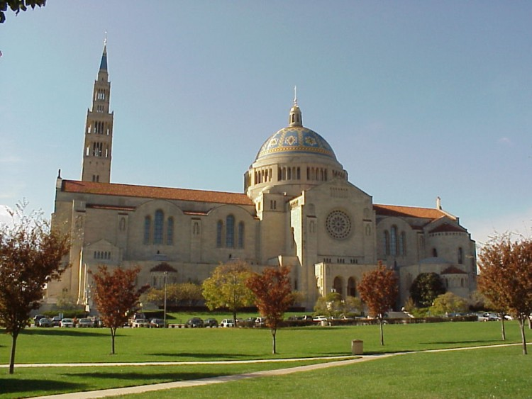 Basilica of the National Shrine of the Immaculate Conception.