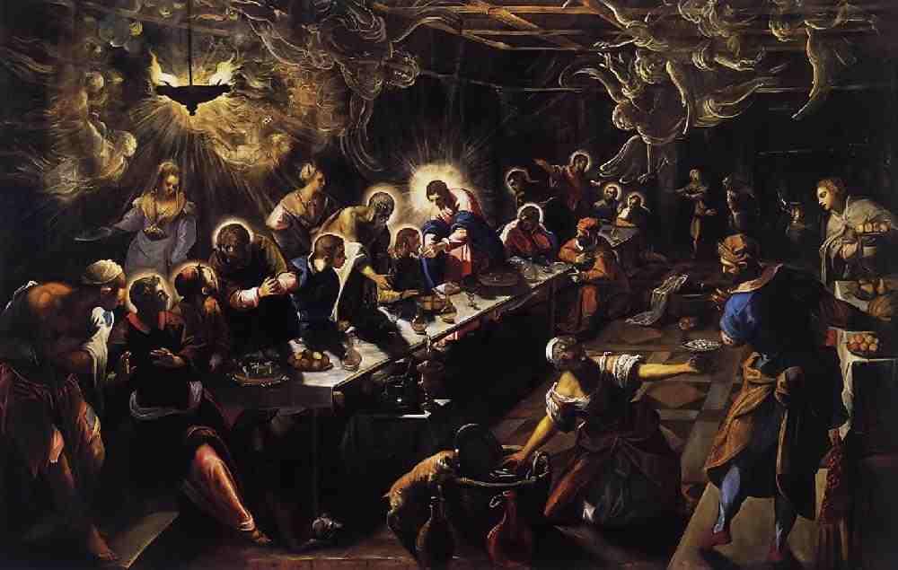 Tintoretto: Utolsó vacsora