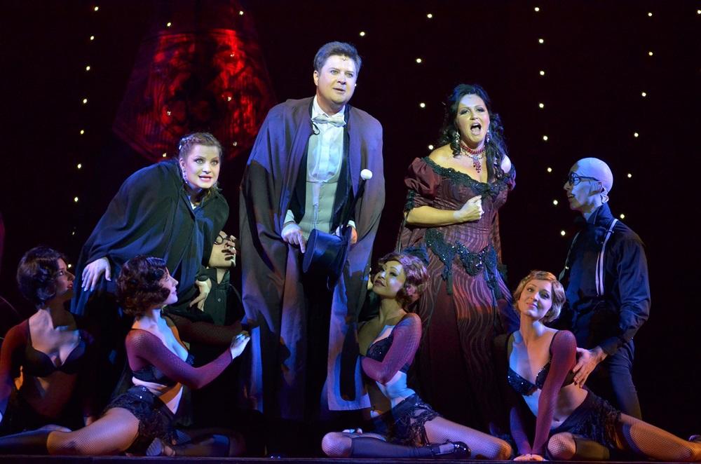 Színházi fotók 35. — A denevér az Operettszínházban