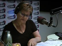 Petényi Judit, az Ottawai Magyar Rádió szerkesztője.
