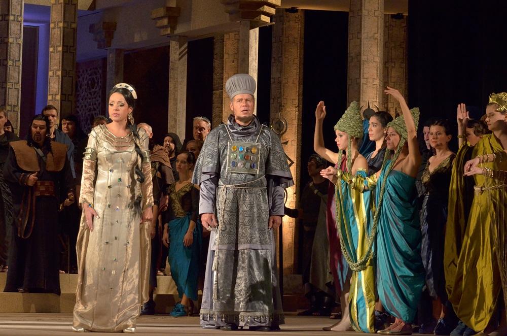 Színházi fotók 46. — Sába királynője a Magyar Állami Operaházban