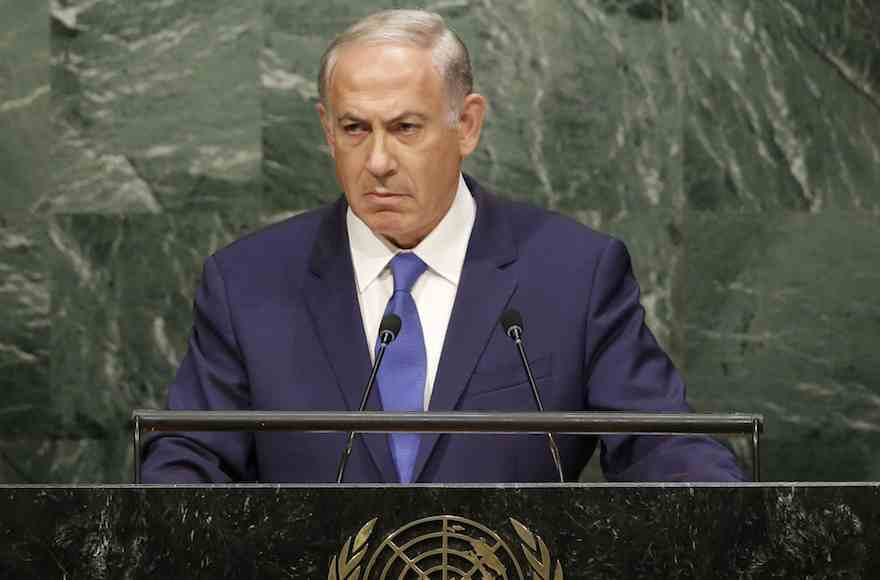 Dráma az ENSZ-közgyűlésen: Netanjahu 45 másodpercig hallgatott.