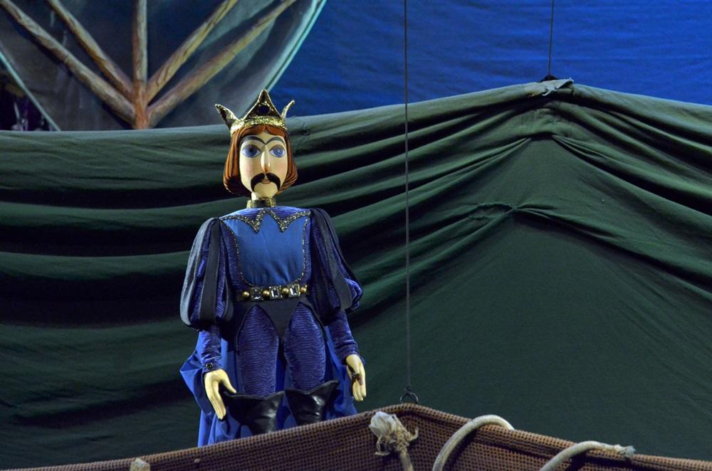Színházi fotók 52. — A legkisebb boszorkány a Bábszínházban
