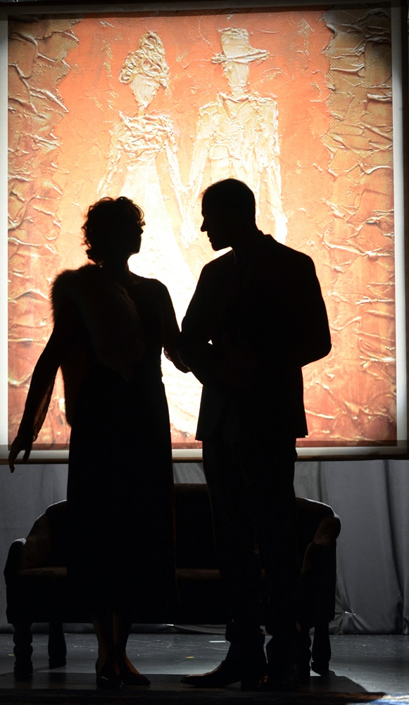 Színházi fotók 55. — Kék róka a Pinceszínházban