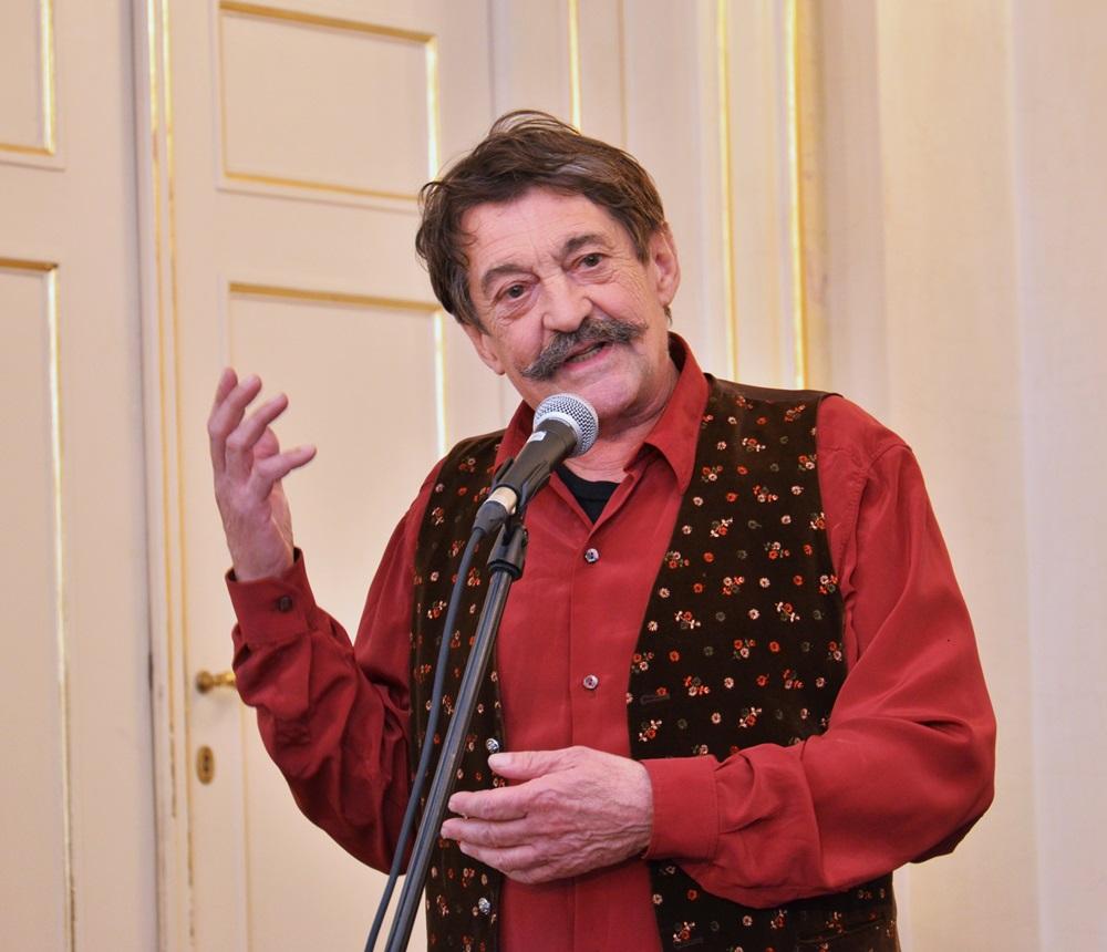Bolgár György szerzői estje – Versek Galkó Balázs előadásában a Spinozában