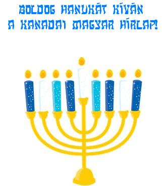 A KMH hanukai üdvözlete