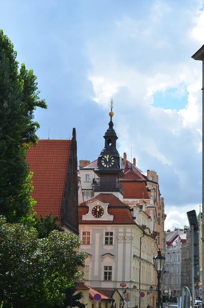Prágai szinagógák — Régi-új zsinagóga (Staronová synagoga).