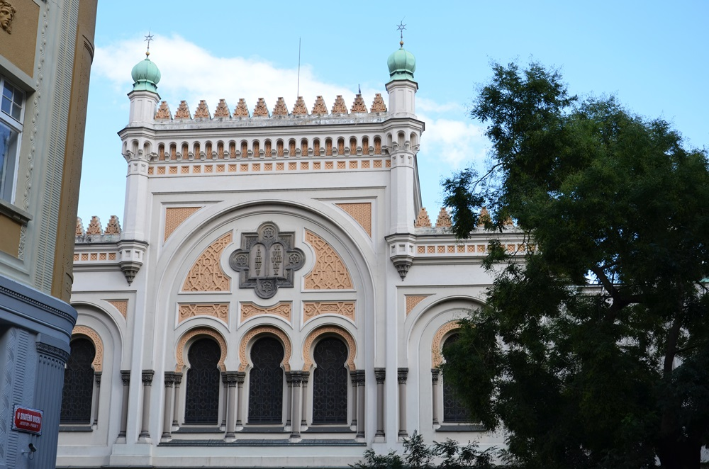 Prágai zsinagógák — a Spanyol Zsinagóga