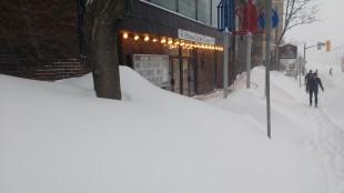 Ottawa Little Theatre. Színház, behavazva. Fotó: C. Adam.